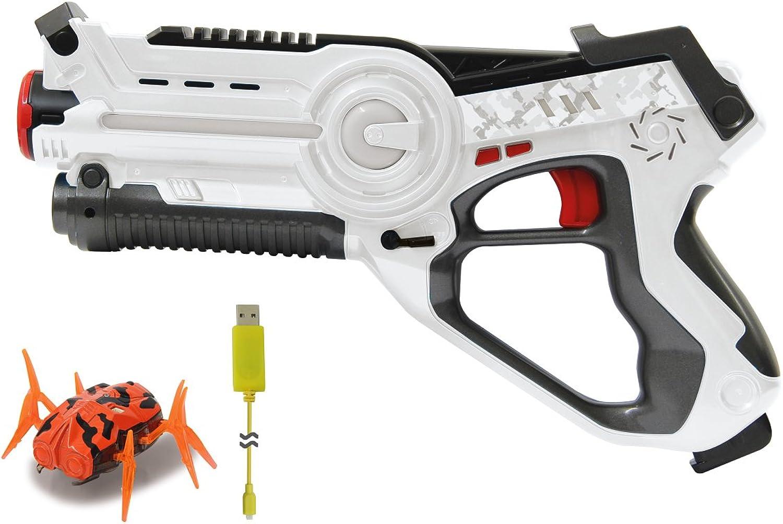 Jamara 410065 Impulse Infrared Laser Tag Bug Hunt Set, White orange