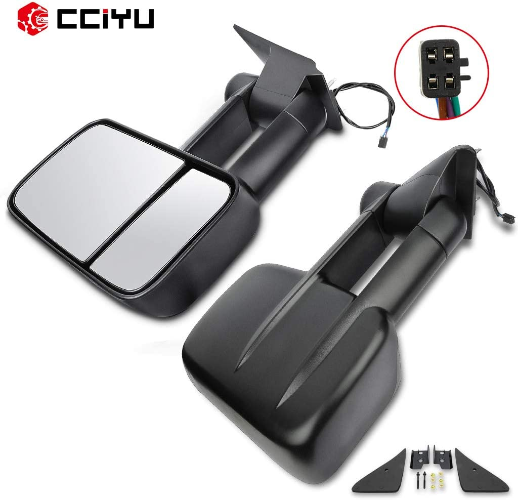 cciyu Left Right Towing Las Vegas Mall Mirror Fashion Tow Replacement 1 Mirrors Fit for