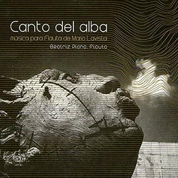 Canto del Alba: Música para Flauta de Mario Lavista
