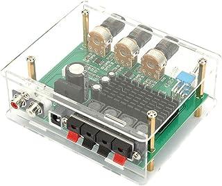 Changor Placa amplificadora de Potencia Ac12-17v, módulo de plástico de Potencia de Salida Fuerte Electrónica AC 12V-AC 17...