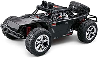 Remote Control Stunt Car, Off-Road Rock Car, High Speed Rotatable Wireless Control Rechargeable Children's Toy, Boy Girl Teen Adult Cool Toy (Color : Black)