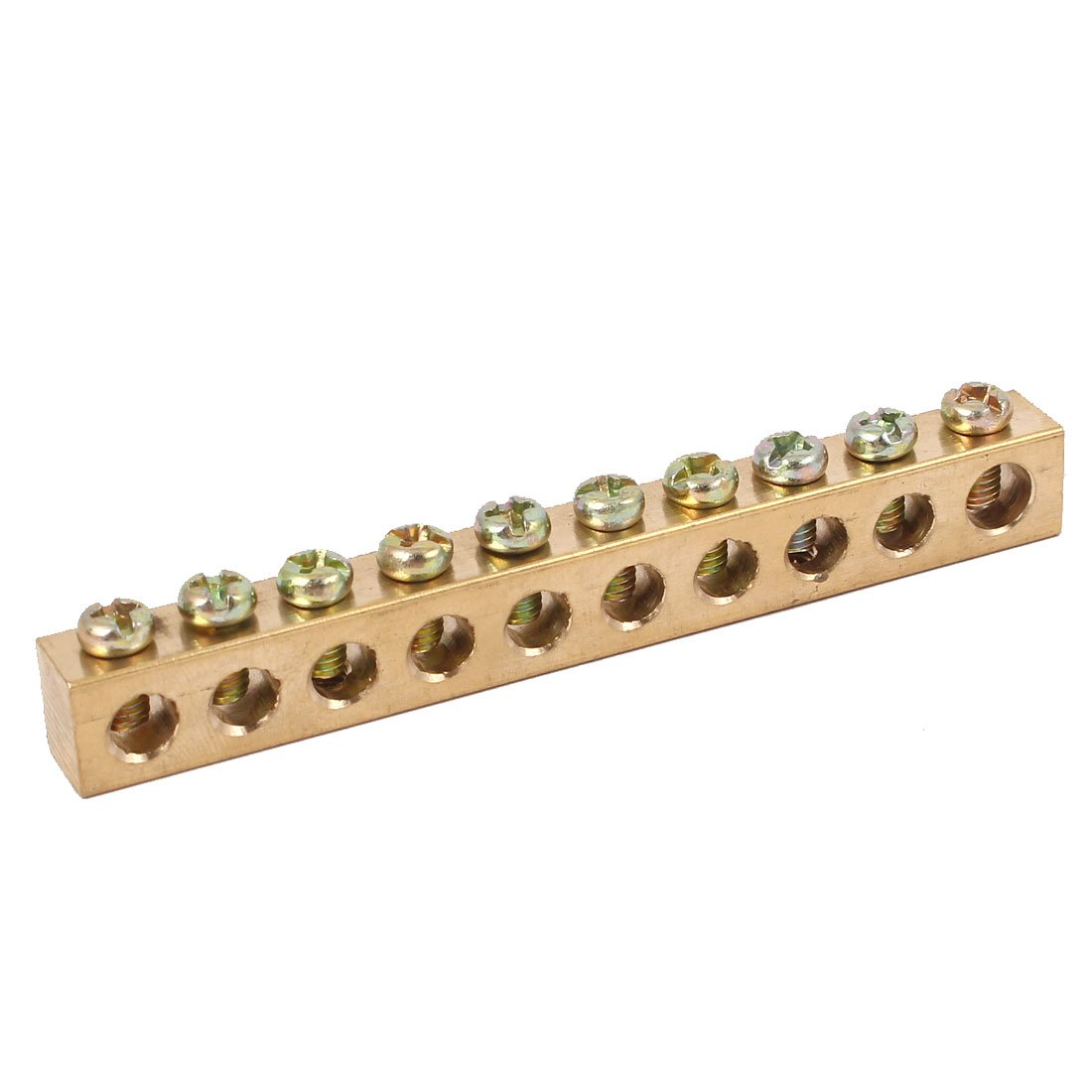 Uxcell a16030900ux0586 Free shipping / New 10 Holes Cabinet Max 77% OFF Wire Distribution Screw
