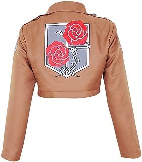 Women's Attack on Titan Garrison Regiment Jacket Cosplay Costume
