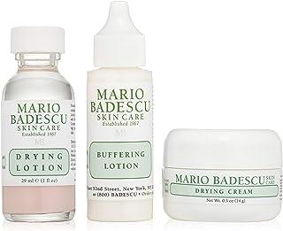 [(マリオ バデスク)] Mario Badescu Acne Repair Kit: Drying Lotion 29ml + Drying Cream 14g + Buffering Lotion 29ml 3pcs] (並行輸入品) [並...