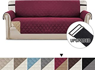 H.VERSAILTEX Reversible Sofa Slipcover Water Repellent Sofa Cover Couch Covers for Dogs Furniture Protector 2
