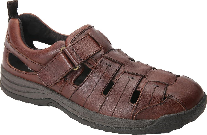 Drew shoes Men's Dublin Suede Casual Sandals