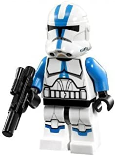 Lego Star Wars Minifigure 501st Legion Clone Trooper with Short Blaster from Set 75002 75004
