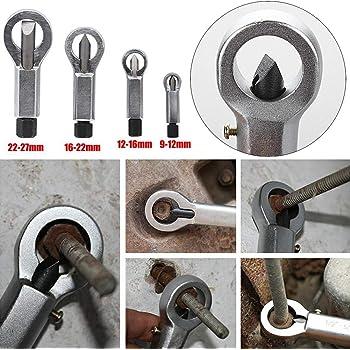 Rusted Broken Damaged Corroded Stuck Nut Removing Splitting Tool 4Sizes Remover Splitter Nut Remover Tools Stuck Rusted Nut Breaker #5 Wifehelper Nut Splitter Tool