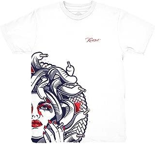 Tinker 6 Medusa Half Face Shirt to Match Jordan 6 Tinker Sneakers