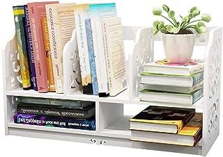 XCJJ - Estantería de escritorio (tamaño pequeño, 40 x 22,5 x 32 cm)