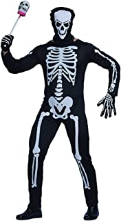EraSpooky Men Skeleton Halloween Costume