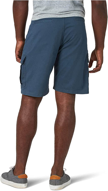 Men's Summer Casual Shorts Buttons Waist Knee Length Cargo Shorts Multi-Pocket Relax Comfy Sports Short Pants - Limsea
