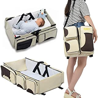 Baby Newborn Travel Bed, Portable Crib, Changing Station, and Diaper Bag for Newborns or Infants. The Best Baby Shower Gift for New Mom and Dad