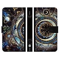 ブレインズ URBANO V03 KYV38 手帳型 ケース カバー 宇宙の光魔法書 よう wonder collection 宇宙 きれい 魔法