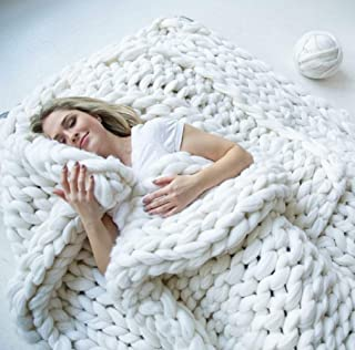 Best chunky knit blanket merino Reviews