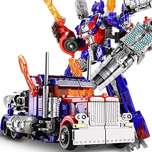 LUSTAR Modelo de Coche de Mueca Mvil Optimus Prime, PVC de 20 Cm, Utilizado para Muecos y Vehculos de Entretenimiento para Nios