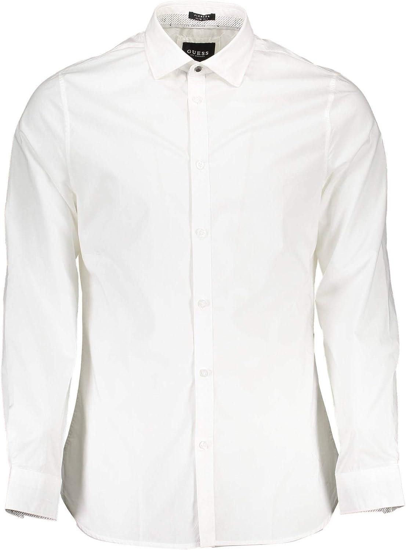 Guess LS Alameda Shirt Camisa Casual para Hombre: Amazon.es ...