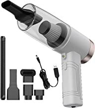 Handheld Vacuum Cordless 4500PA Super Suction Hand Vacuum Cleaner Rechargeable with LED Light Lightweight Wet Dry Vacuum f...