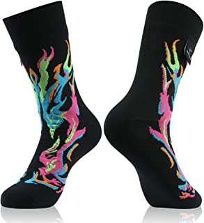 100% Waterproof Breathable Socks, [SGS Certified] RANDY SUN Unisex Novelty Sport Skiing Trekking Hiking Socks 1 Pair