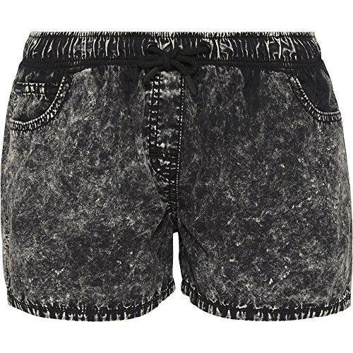 Chiemsee Damen im Vintage-Stil Badeshorts, 997 Deep Black, S
