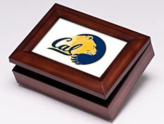 Collegiate Music Jewelry Box Finish: Wood Grain, NCAA Team: University of California Berkeley
