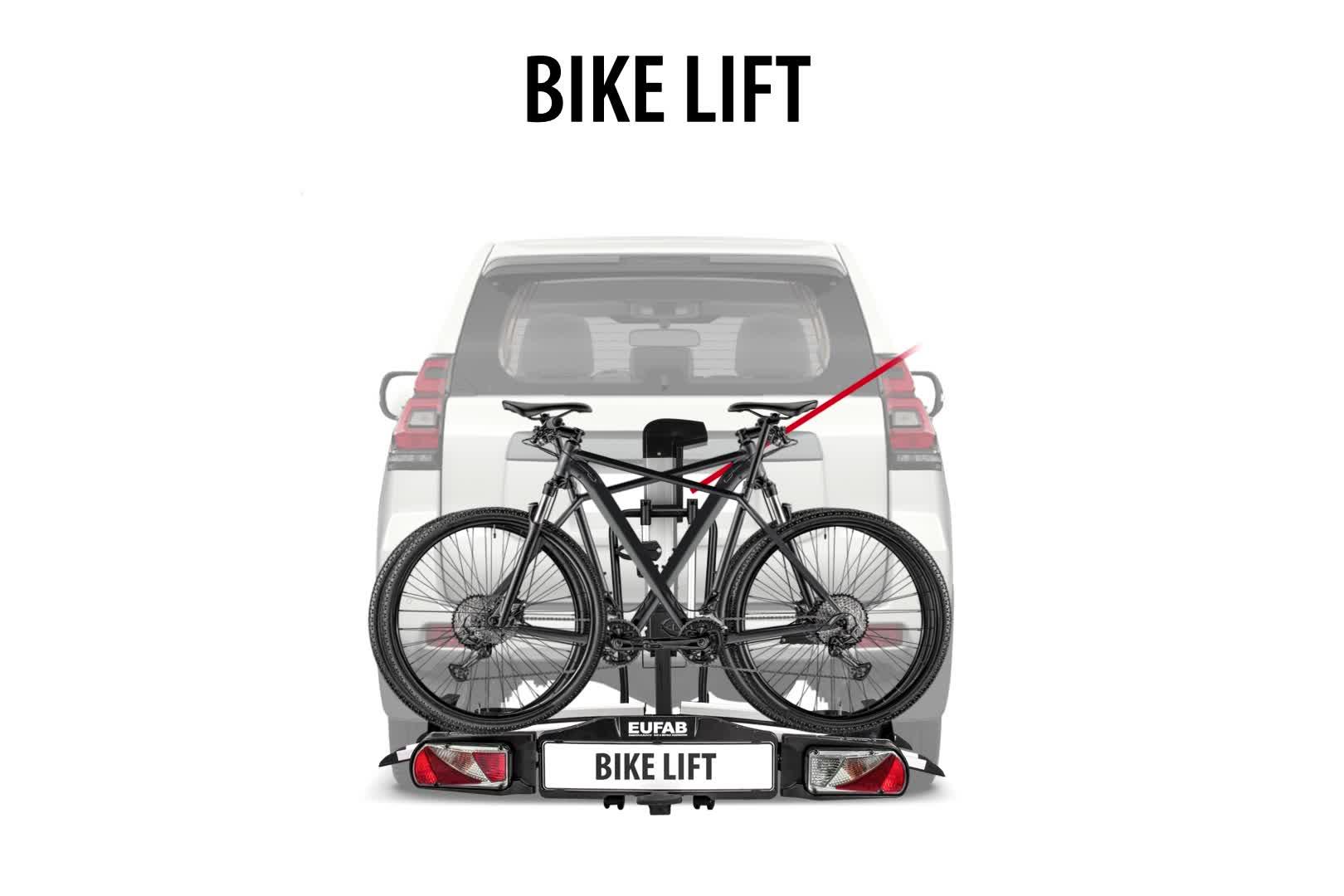 6169GW5lcGL EUFAB 11535 Heckträger Bike Lift, für E-Bikes geeignet