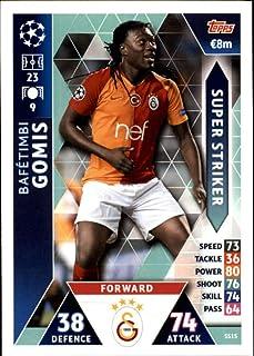 2018-19 Topps UEFA Champions League Match Attax Super Strikers #SS15 Bafetimbi Gomis Galatasaray SK Official Futbol Soccer Card