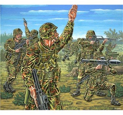 Revell 02611 - Deutsche Panzergrenadiere, 15 Teile