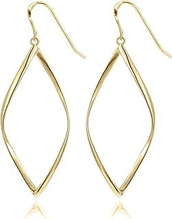 Best 14k dangle earrings Reviews