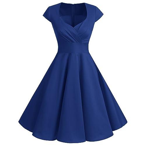 3f99500f660d5 Bbonlinedress Women Short 1950s Retro Vintage Cocktail Party Swing Dresses