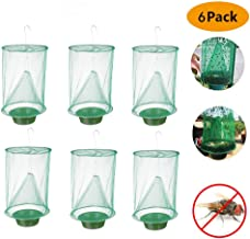 BSTORE 2019 New Ranch Fly Trap Outdoor, The Most Effective Trap Ever Made Fishing Apparatus with Food Bait Flay Catcher for Indoor or Outdoor Family Farms, Park, Restaurants