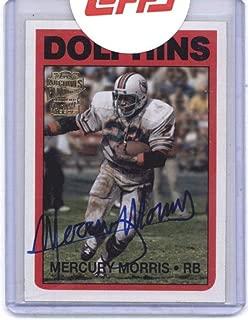 mercury morris autograph