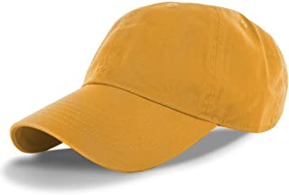 a73959098ac DealStock Plain 100% Cotton Hat Men Women Adjustable Baseball Cap (30+  Colors)
