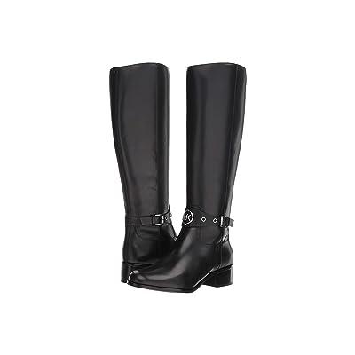 MICHAEL Michael Kors Heather Boot (Black Vachetta) Women