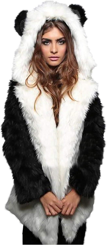 Women Winter Furs Hooded Coat Jacket Luxury Long Fur Store Faux Super sale Sl Fox