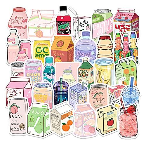 50 pegatinas de graffiti para botellas de bebidas, pequeñas, frescas y extraíbles, monopatín Diy, taza de agua, pegatinas para equipaje