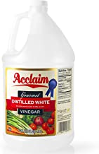 Acclaim All Natural Distilled White Vinegar, 128 Ounces (1 Gallon) - 5% Acidity