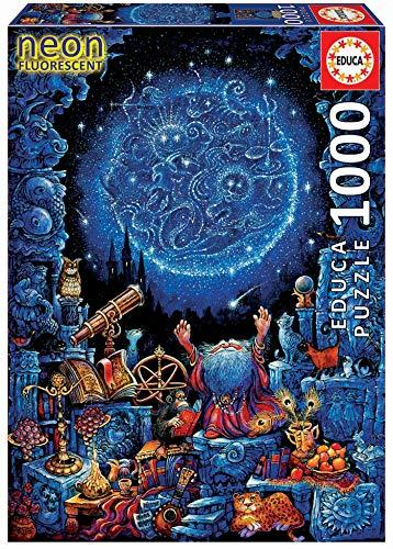 Educa Borras - Astrologe Neon Puzzle, 1000 Teile (18003)