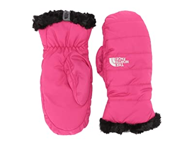 The North Face Kids Reversible Mossbud Swirl Mitt (Big Kids) (Mr. Pink) Extreme Cold Weather Gloves