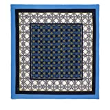 TOUS 130X130 MOSSAIC, Organizadore de bolso para Mujer, Azul (Marino), 130x130x1 cm (W x H x L)