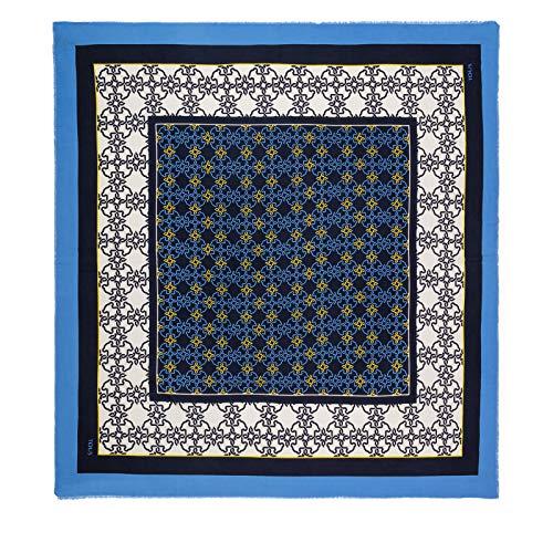 Tous 130 x 130 MOSSAIC, organizzatore da borsa da donna, blu (marino), 130 x 130 x 1 cm (W x H x L)
