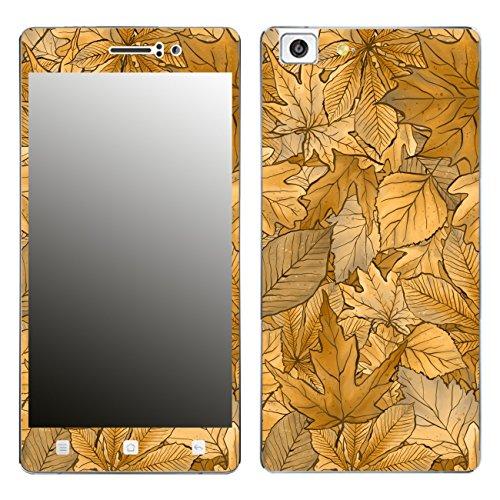 Disagu SF-106221_1188 Design Folie für Oppo R5 - Motiv Herbstblätter_Sepia