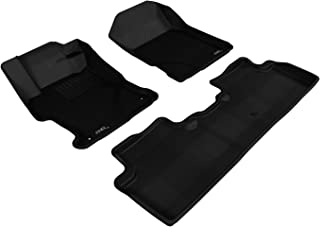3D MAXpider L1HD04101509 All-Weather Floor Mats for Honda Civic Sedan 2012-2013 Custom Fit Car Floor Liners, Kagu Series (...