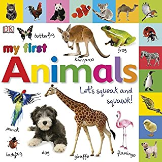 Tabbed Board Books: My First Animals: Let's Squeak and Squawk! (My First Tabbed Board Book)