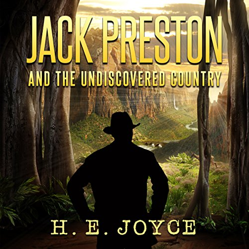 Jack Preston and the Undiscovered Country audiobook cover art