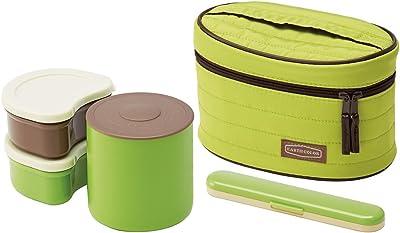 スケーター 保温ジャー ランチボックス 弁当箱 560ml アースカラー モスグリーン ランチジャー 保温弁当箱 KCLJ7DXSF