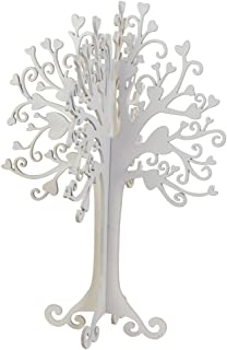Mopec Árbol de los Deseos, Madera, Blanco, 26x40x3 cm