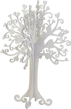 Mopec Tree of Wishes, Legno, Bianco, 26x 40x 3cm