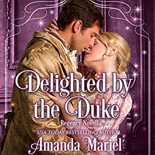 Delighted by the Duke audiobook cover art