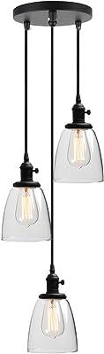 Phansthy 16.6CM Applique Murale Industrielle Lampe Murale Vintage E27 Luminaires en Métal pour Grenier, Cuisine,Salle à Manger(ampoule non incluse) Blanc